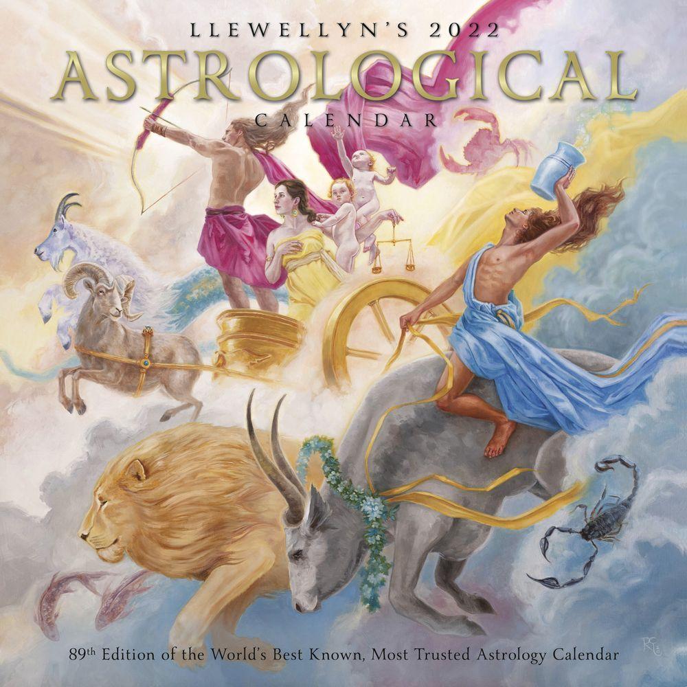 Llewellyn's Astrological 2022 Wall Calendar