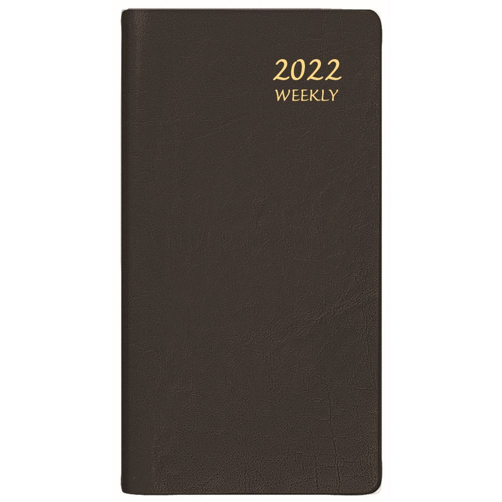 Continental 2022 Weekly Pocket Planner Black