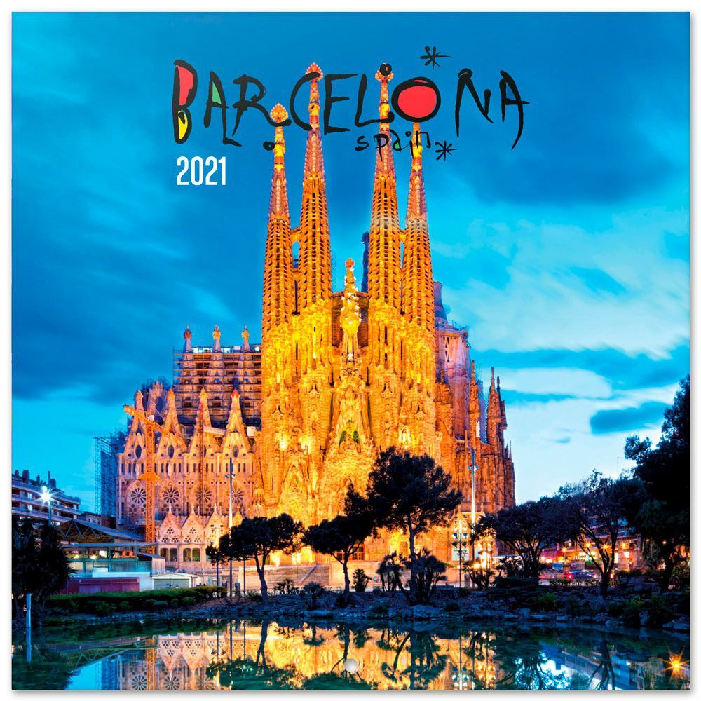 Barcelona Bilingual 2021 Wall Calendar (SPANISH ...