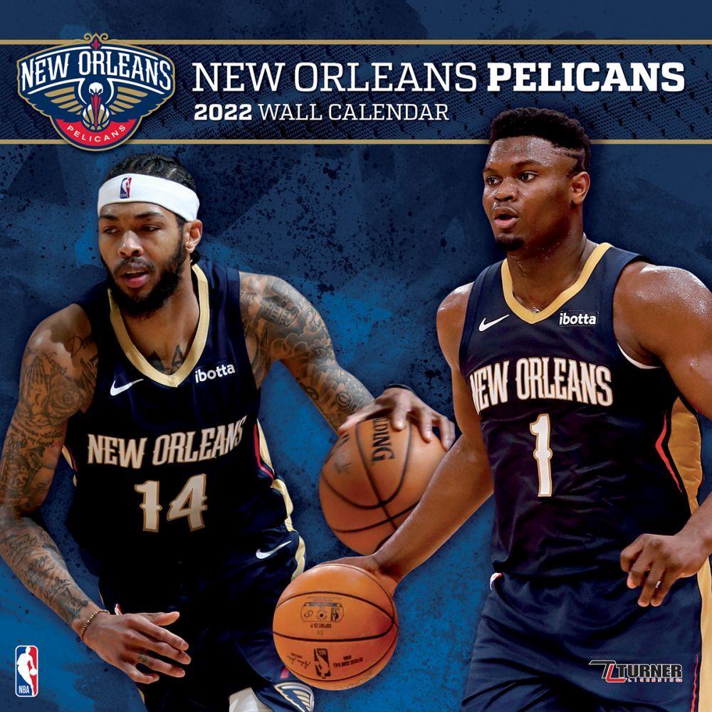 New Orleans Pelicans 2022 Wall Calendar
