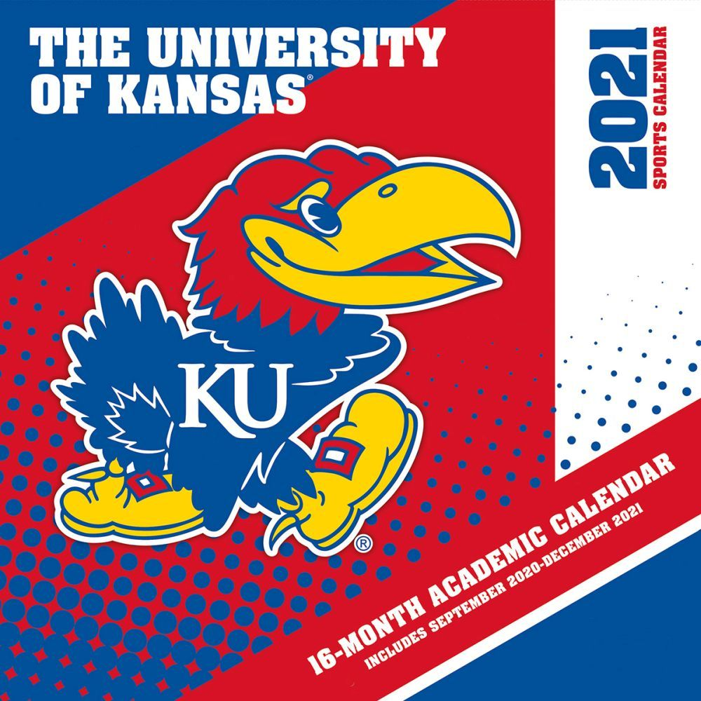 Kansas Jayhawks Wall Calendar - Calendars.com
