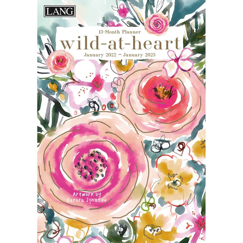 Wild At Heart 2022 Monthly Planner