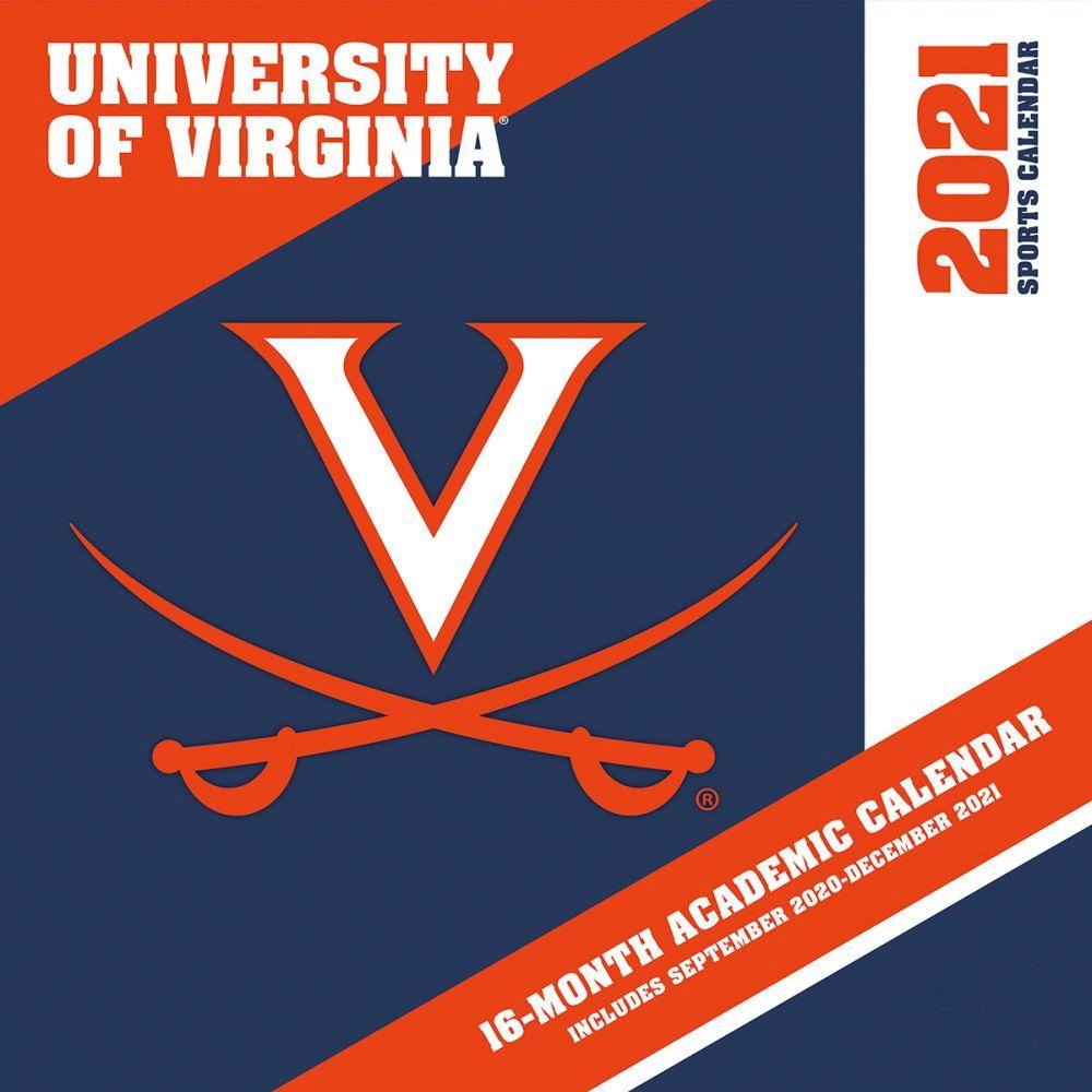 University of Virginia Cavaliers 2021 Wall Calendar