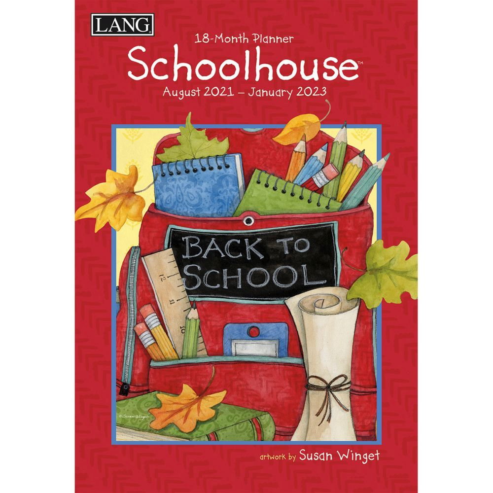 Schoolhouse 2022 Monthly Planner