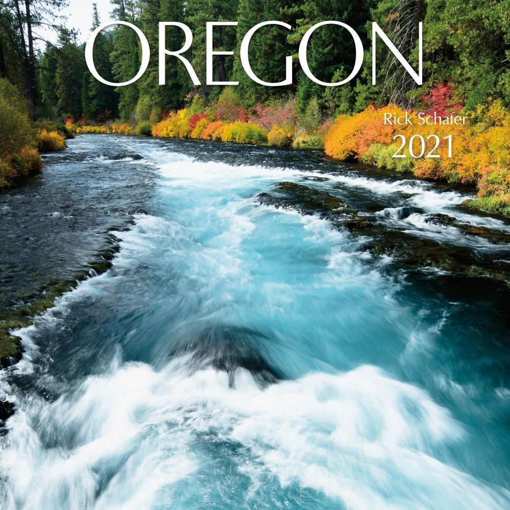Oregon Protege 2021 Wall Calendar
