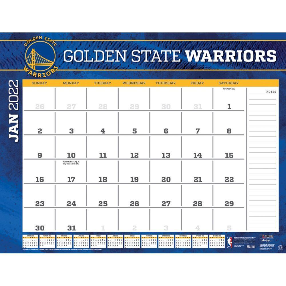 Golden State Warriors 2022 Blotter