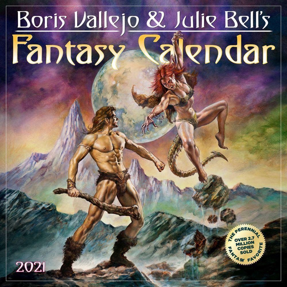 Vallejo & Bell 2021 Wall Calendar
