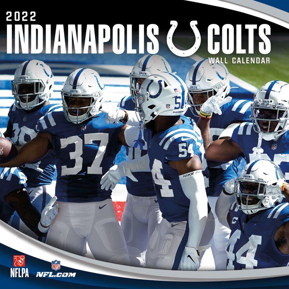 Indianapolis Colts 2022 Wall Calendar