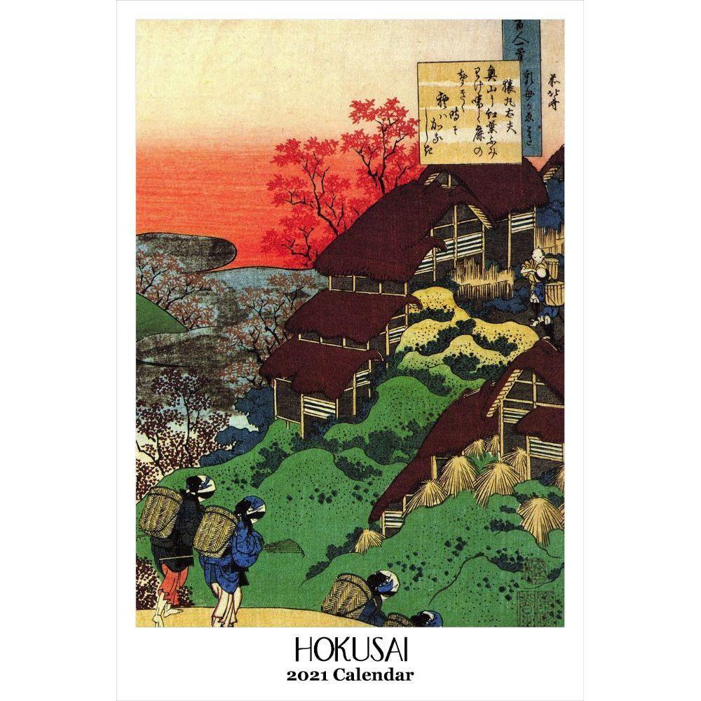 2021 Hokusai Poster Wall Calendar