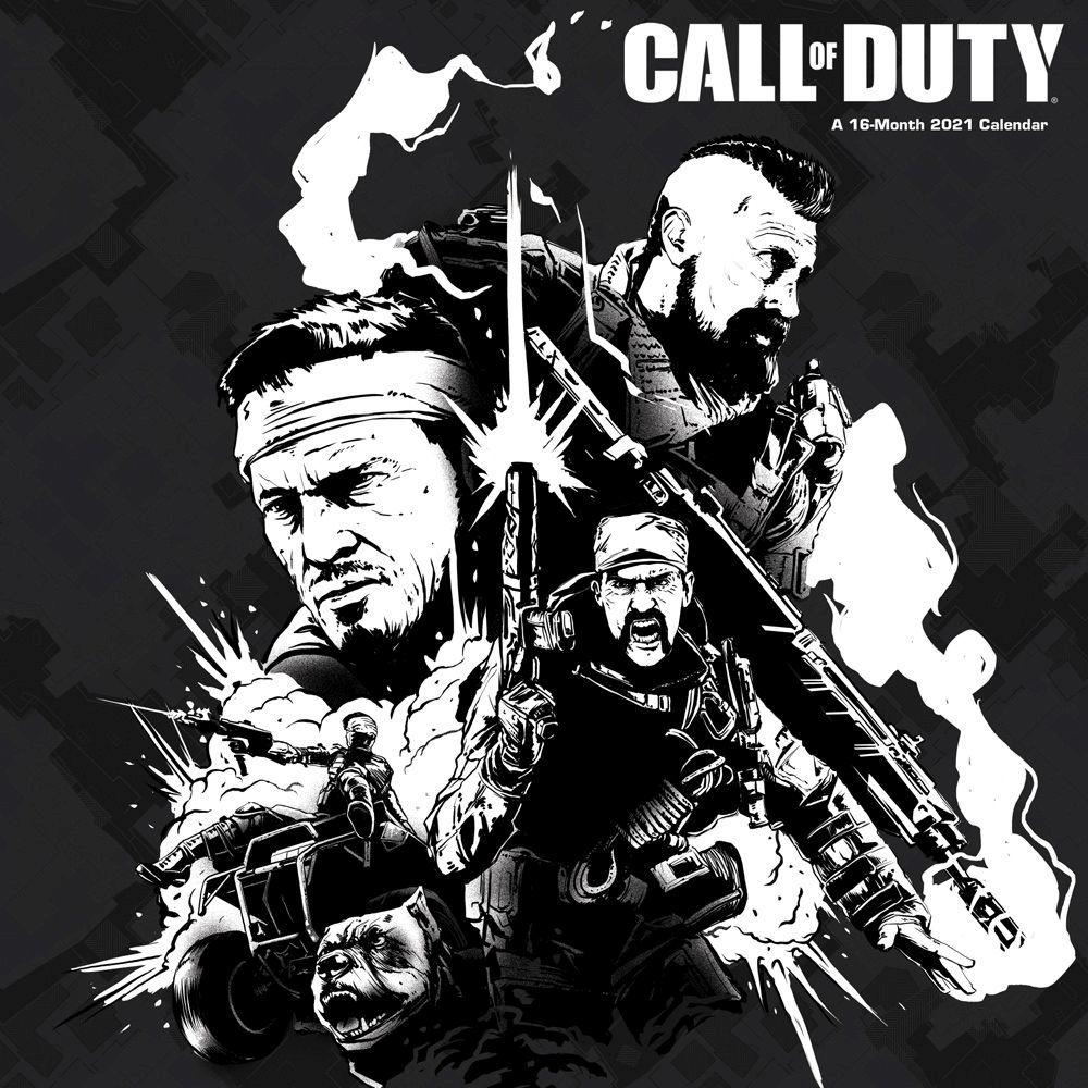 Call of Duty 2021 Wall Calendar