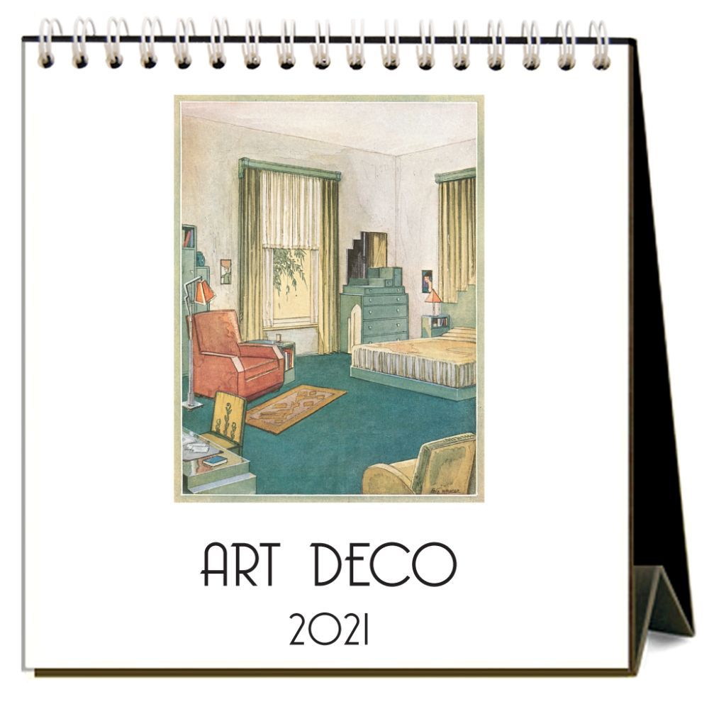 2021 Art Deco Easel Calendar