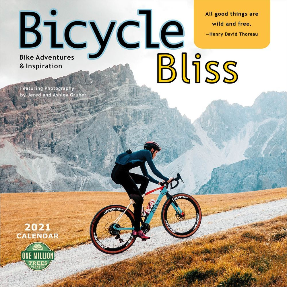 2021 Bicycle Bliss Wall Calendar