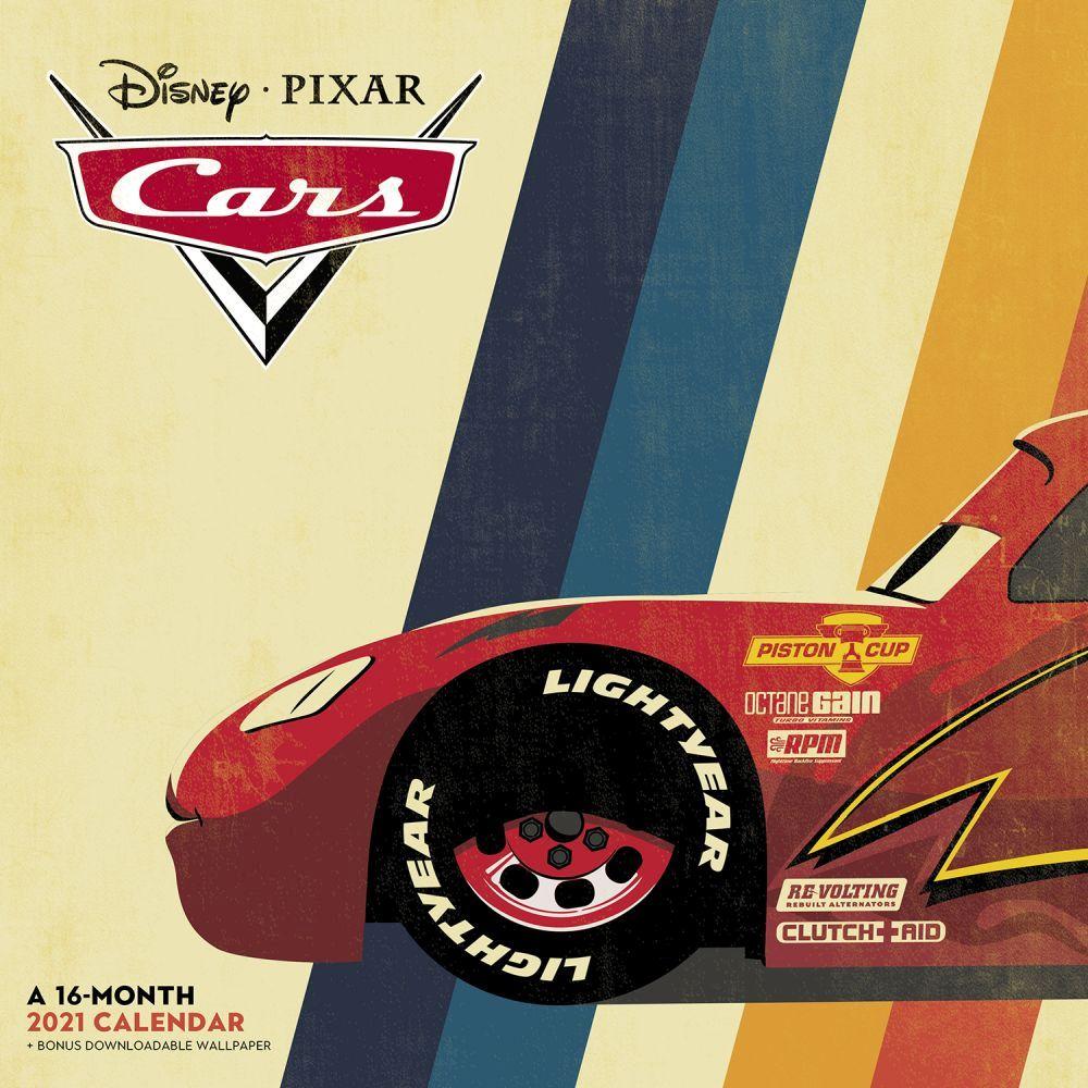 Cars Wall Calendar