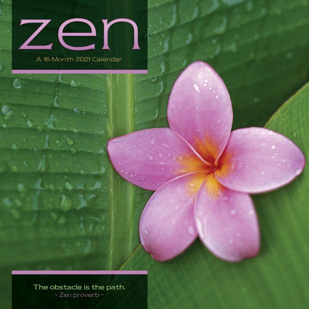 2021 Zen Wall Calendar