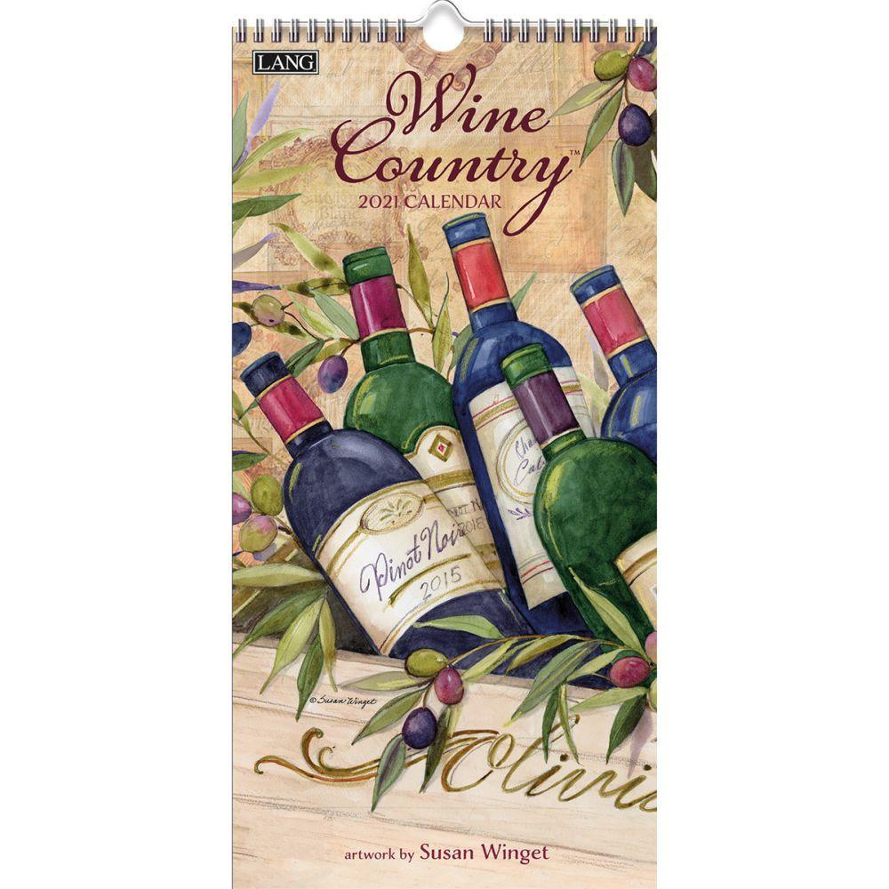 Wine Country Verical 2021 Wall Calendar