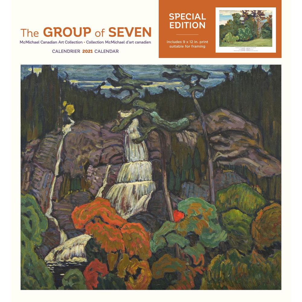 2021 Group of Seven Special Edition Wall Calendar