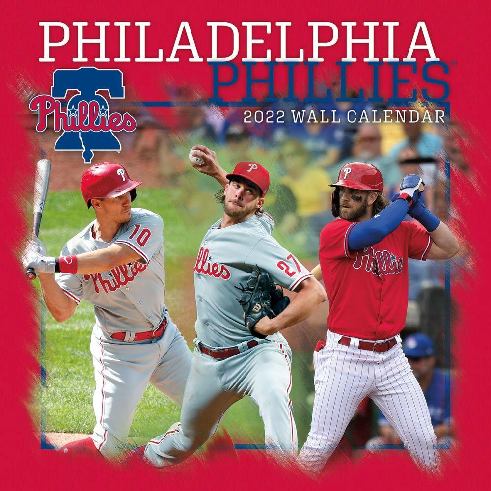 Philadelphia Phillies 2022 Wall Calendar