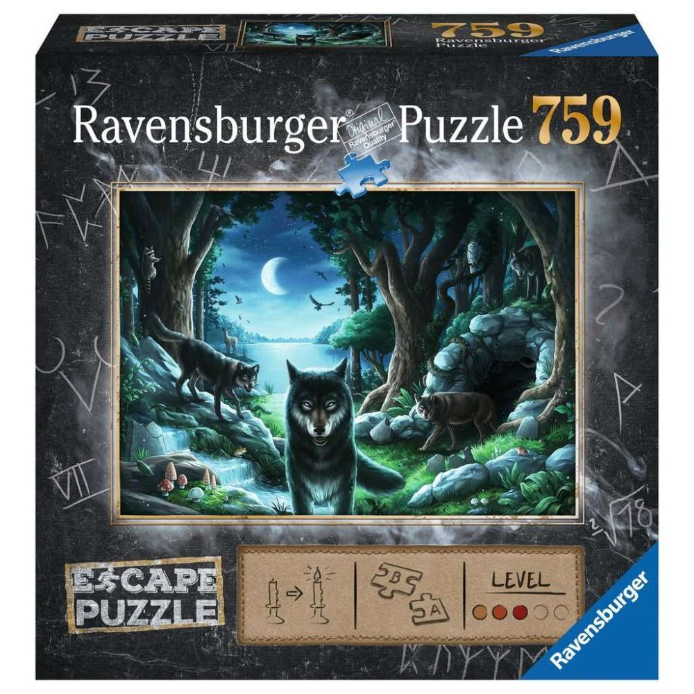 Best Escape Curse of Wolves 759pc Puzzle You Can Buy
