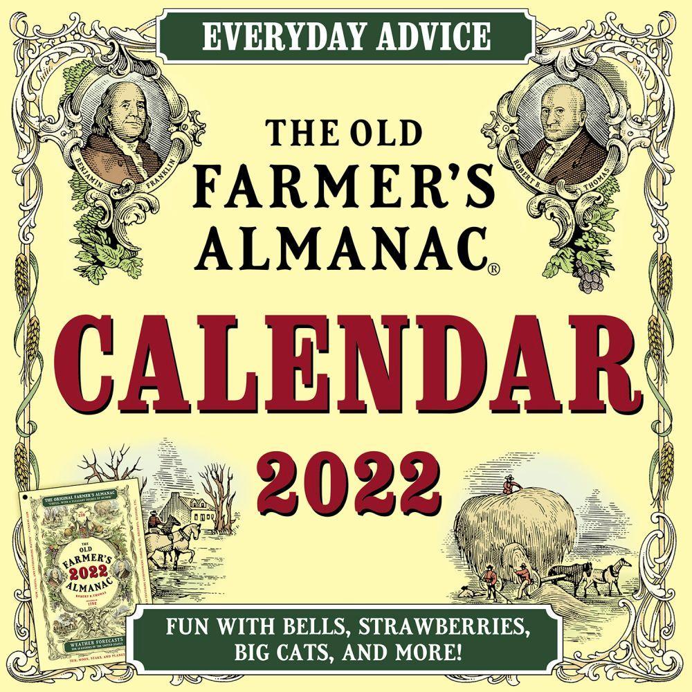 Old Farmers Almanac 2022 Wall Calendar