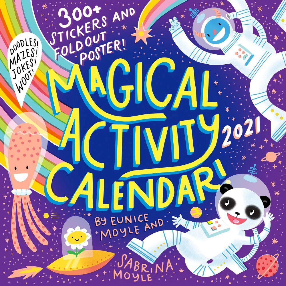 Magical Activity 2021 Wall Calenda