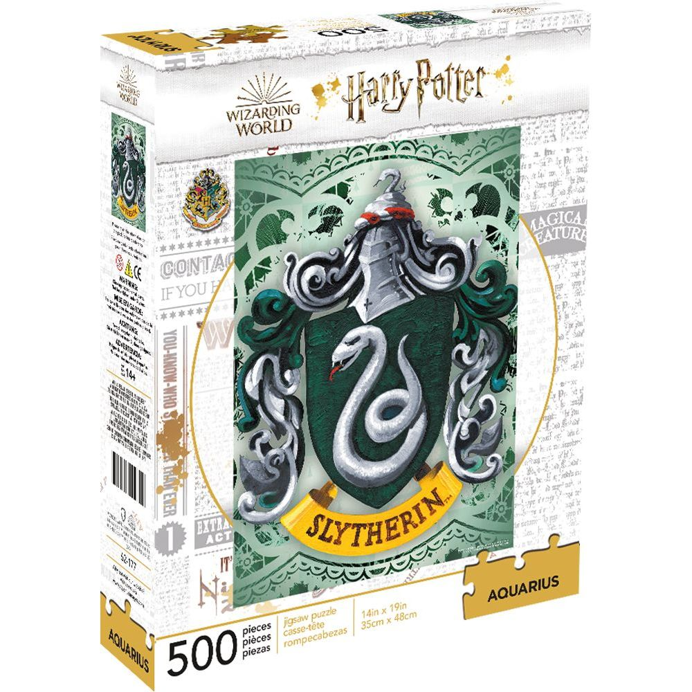 Best Harry Potter Sytherin 500pc Puzzle You Can Buy