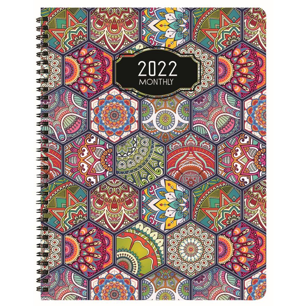 Deco 2022 Monthly Appointment Planner