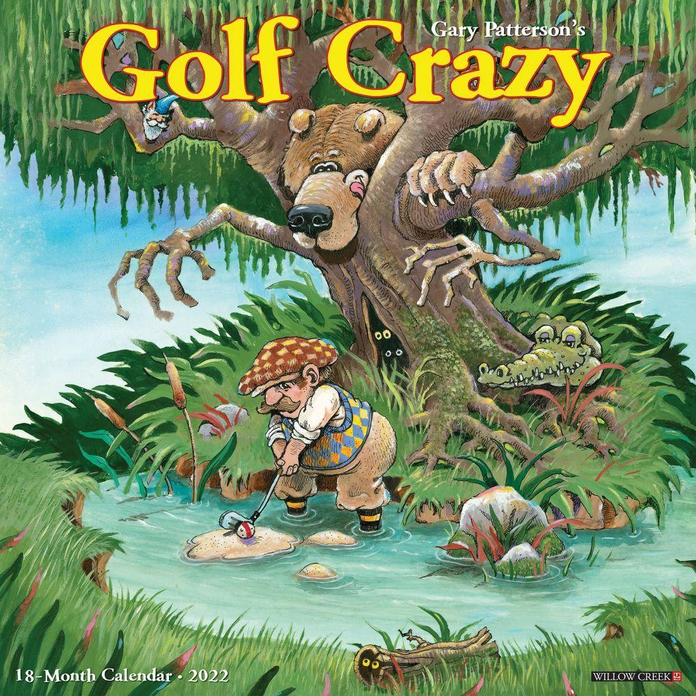 Gary Patterson's Golf Crazy 2022 Wall Calendar