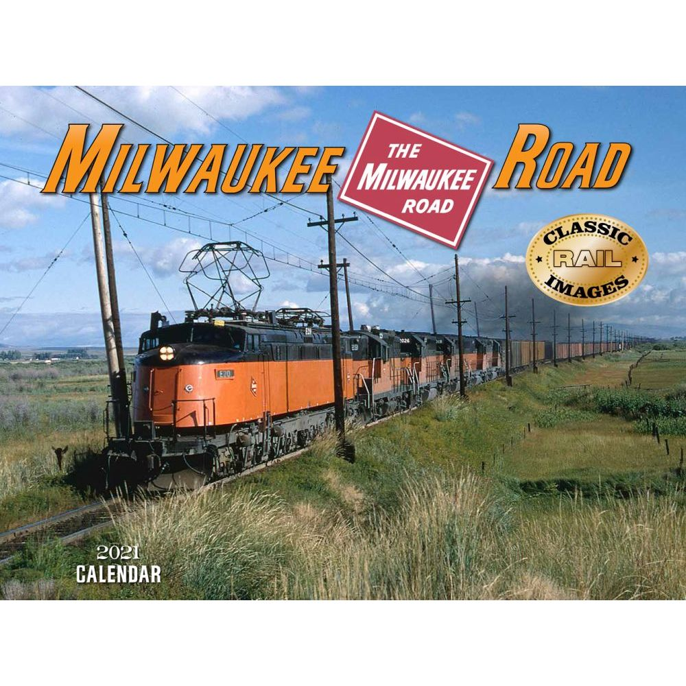 2021 Trains Milwakee Road Wall Calendar