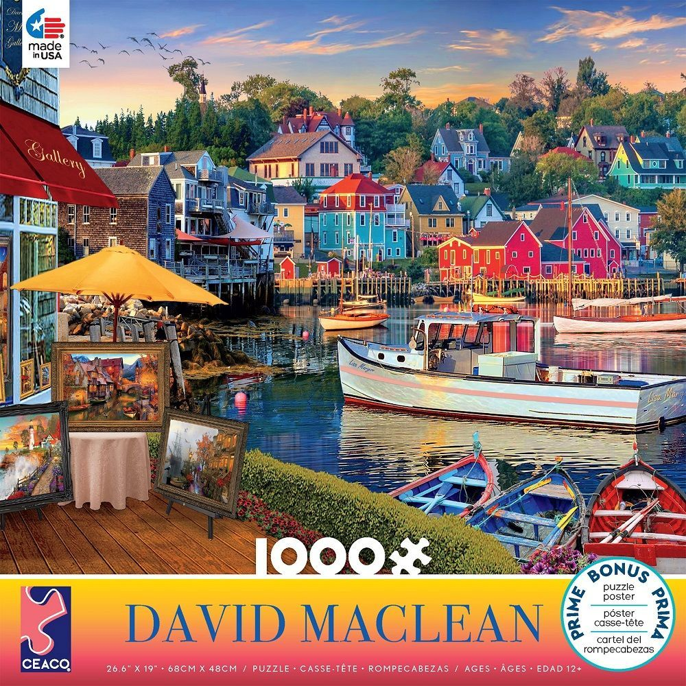 Best David Maclean 1000pc Puzzle You Can Buy