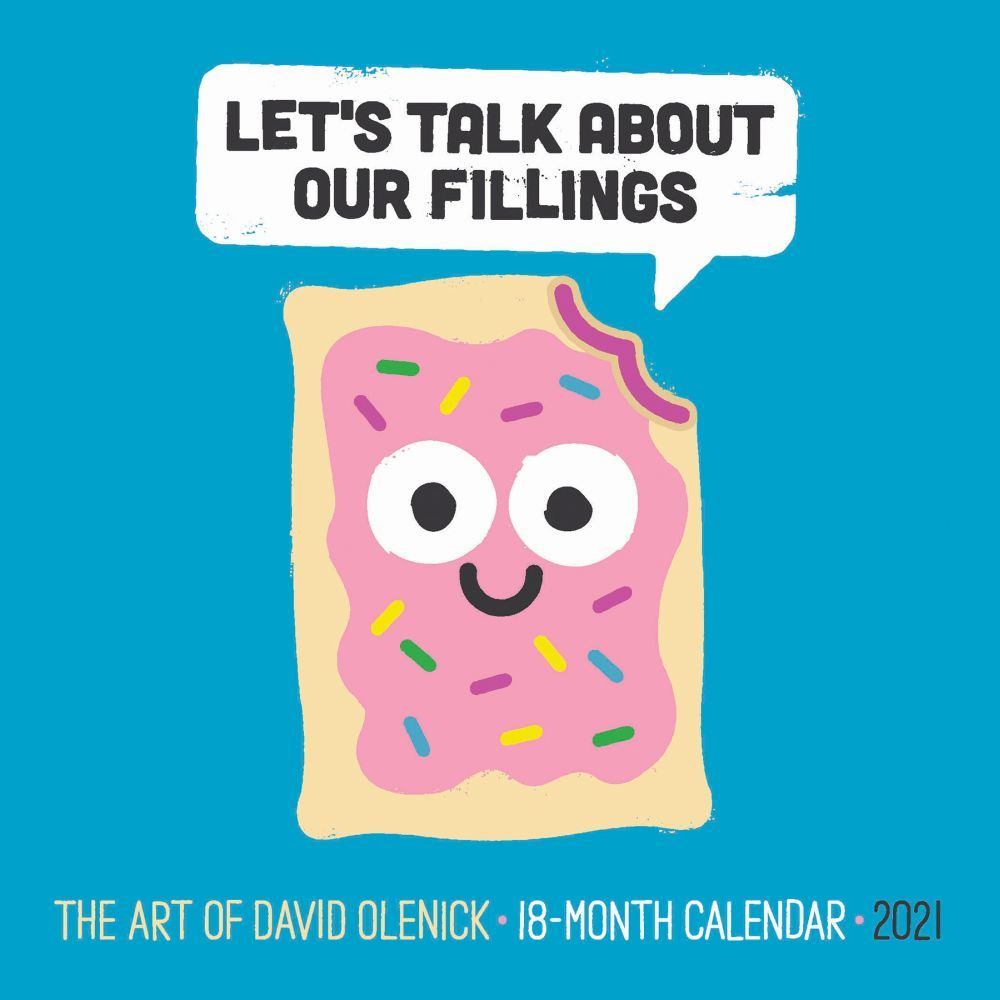 2021 This is How Olenick Mini Wall Calendar