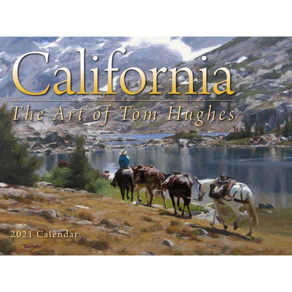 2021 Hughes California Art Wall Calendar