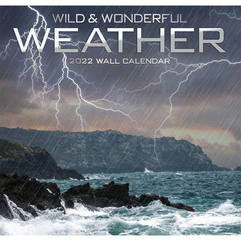 Wild and Wonderful Weather 2022 Wall Calendar