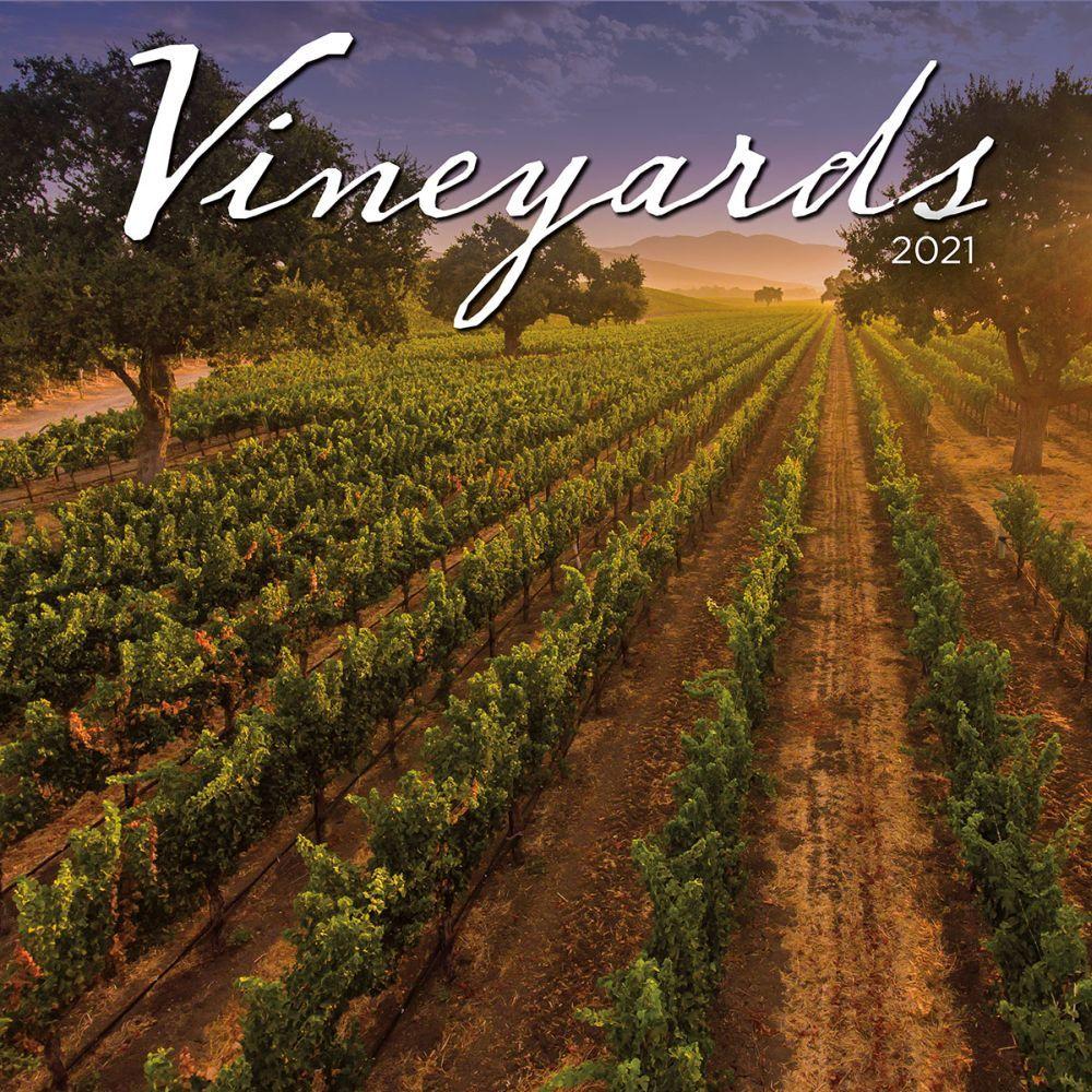 Vineyards 2021 Wall Calendar