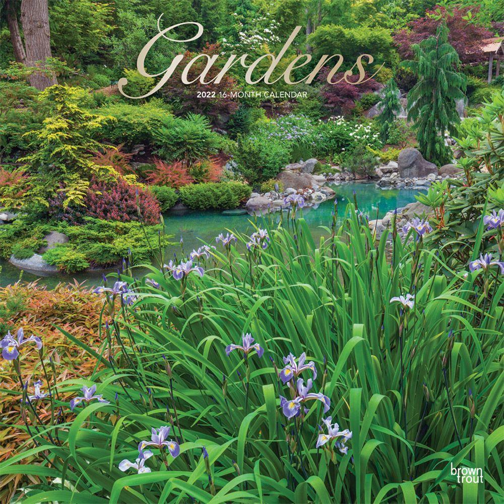 Gardens 2022 Wall Calendar