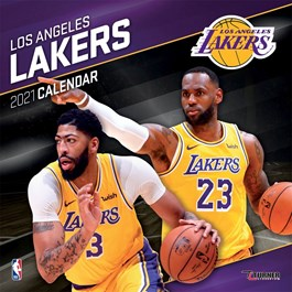 Los Angeles Lakers Wall Calendar