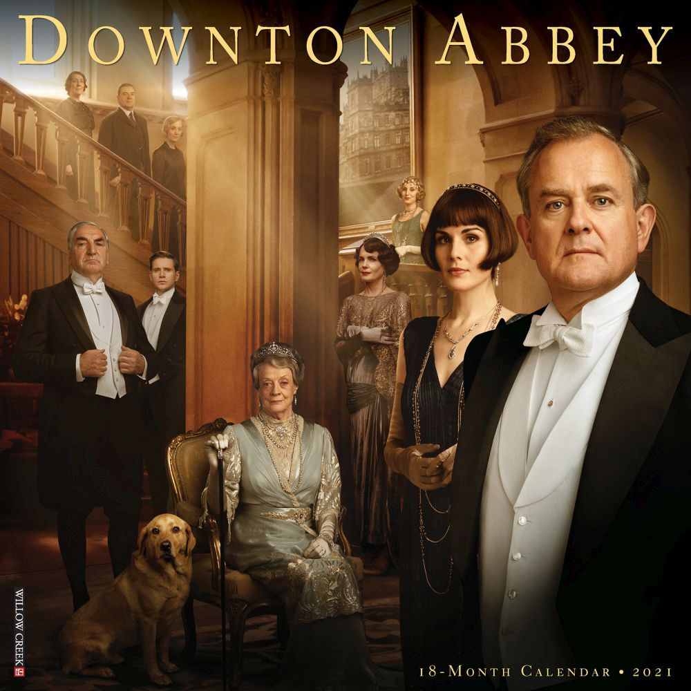 2021 Downton Abbey Wall Calendar
