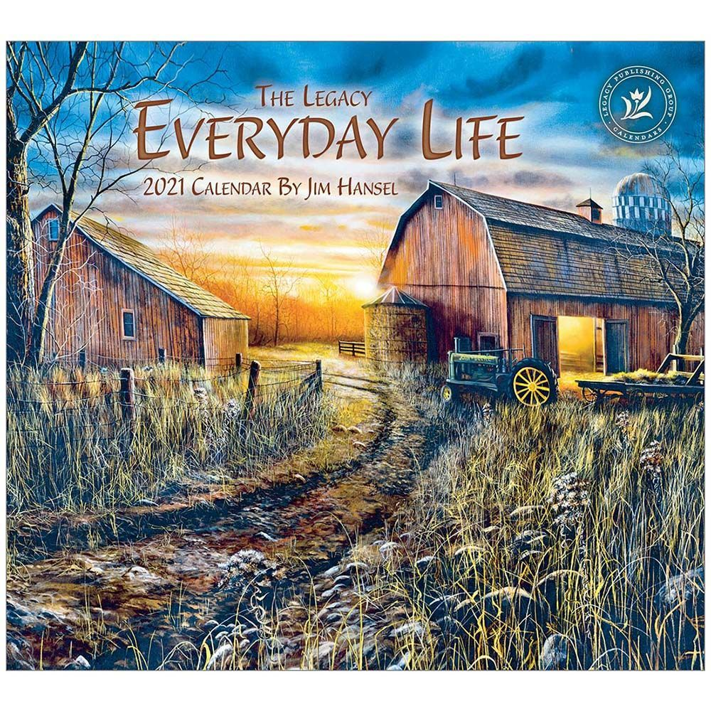 2021 Everyday Life Hansel Wall Calendar