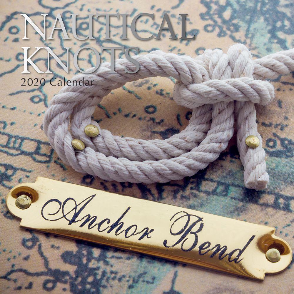 Nautical Knots 2021 Wall Calendar