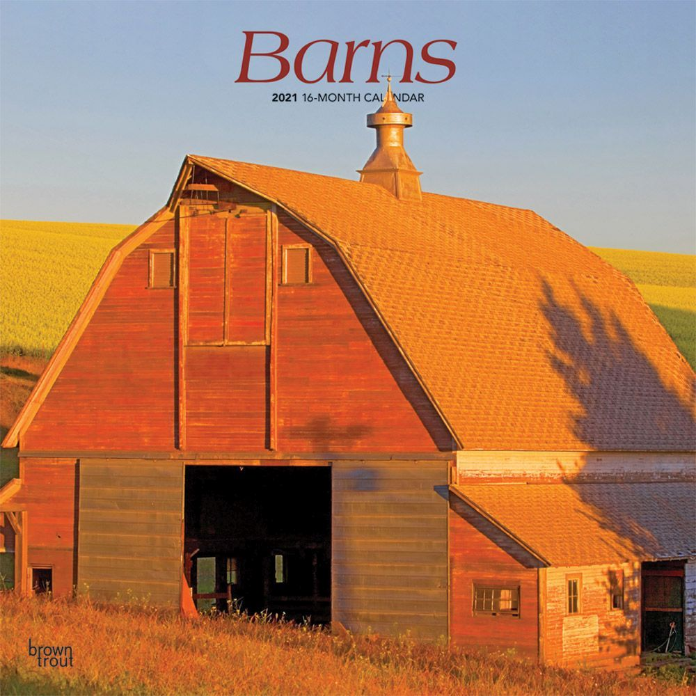 2021 Barns Wall Calendar
