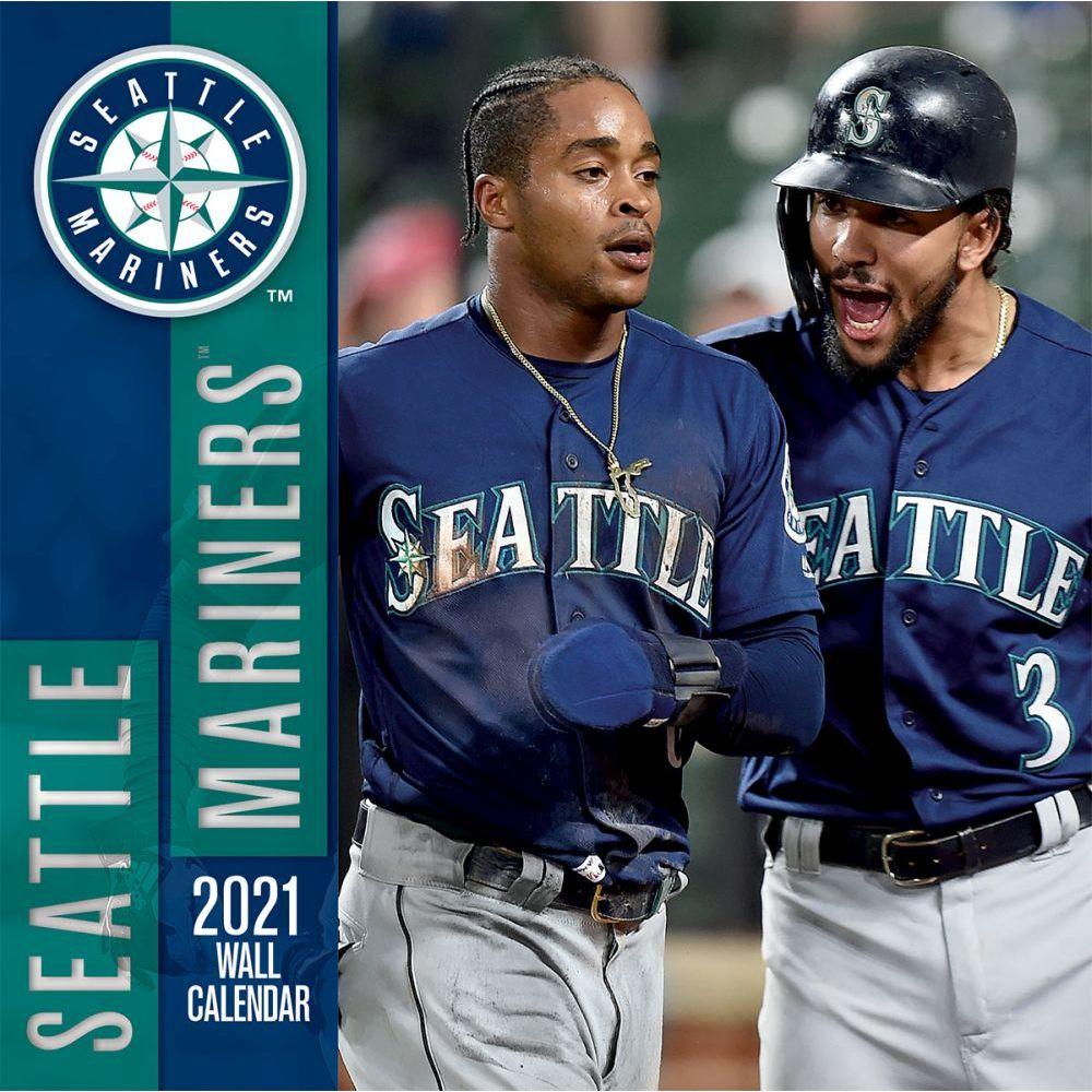 Seattle Mariners 2021 Wall Calendar