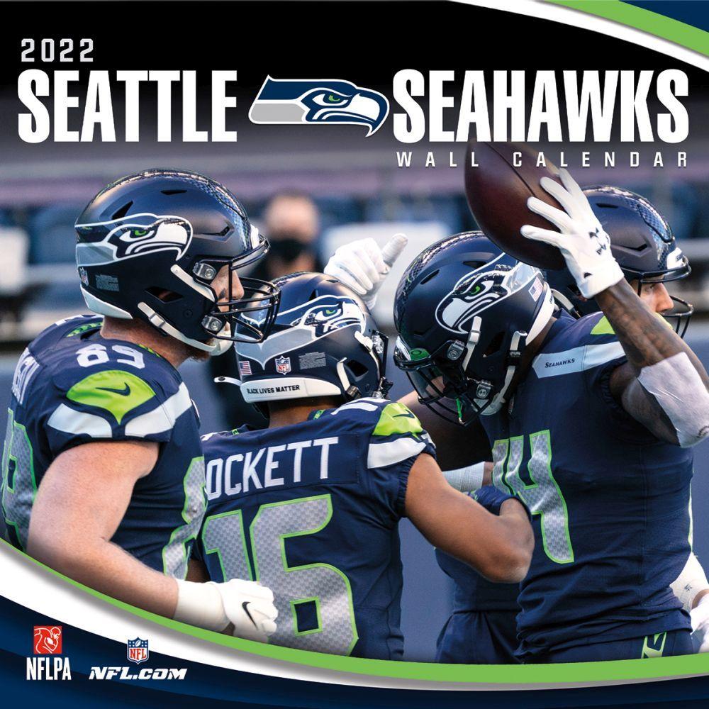 Seattle Seahawks 2022 Wall Calendar