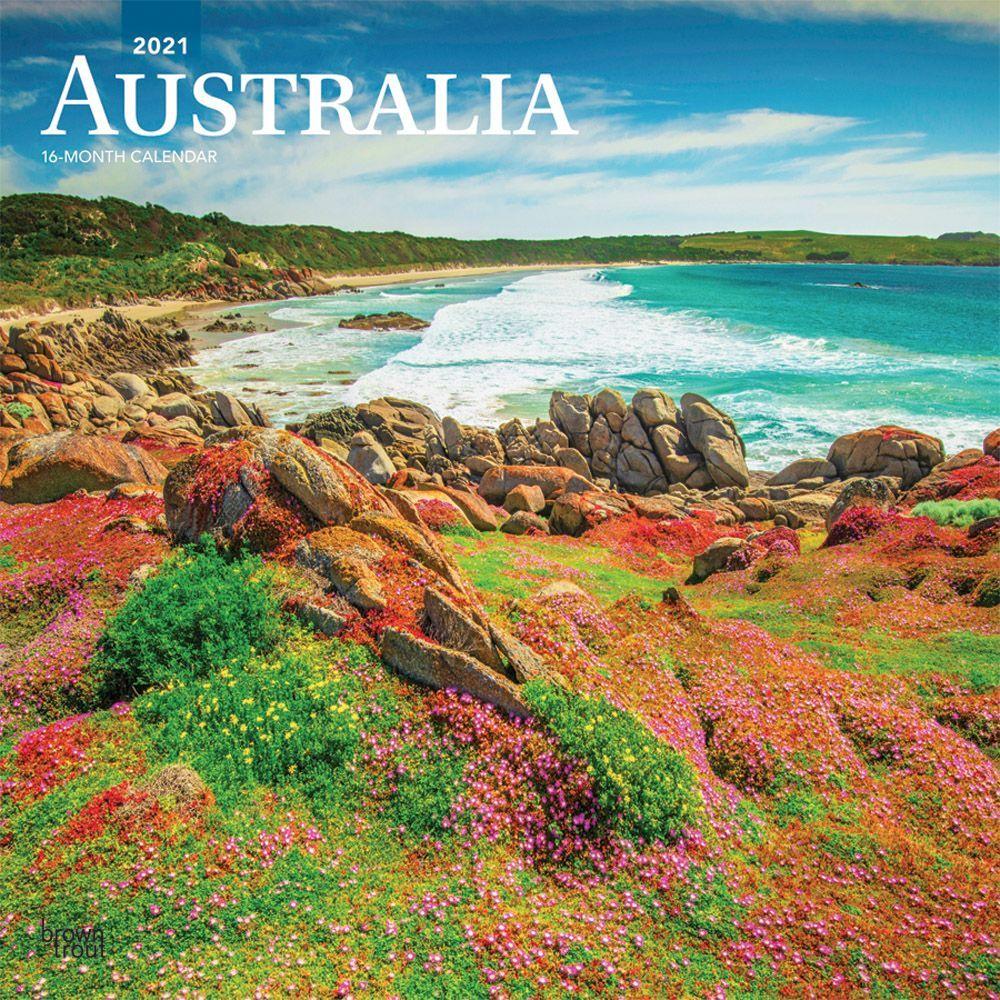 Australia 2021 Wall Calendar