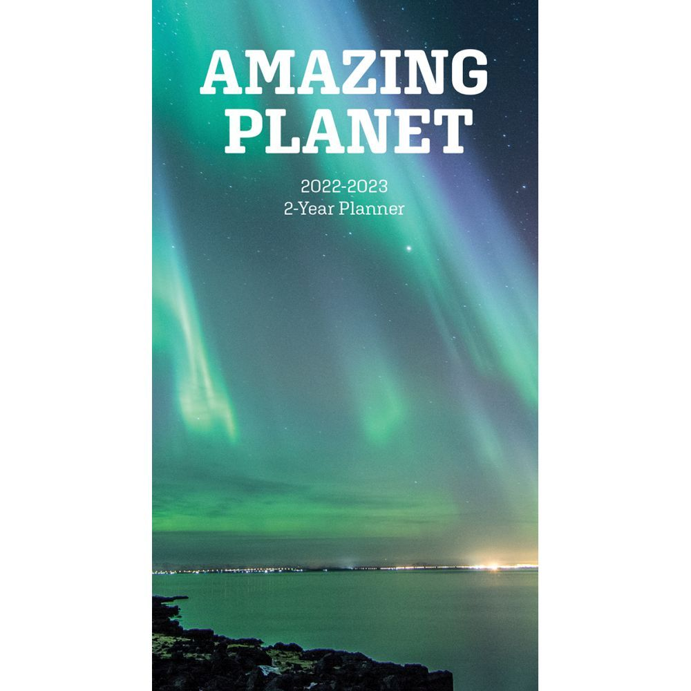 Amazing Planet 2022 Two Year Planner