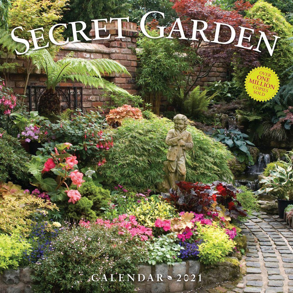 2021 Secret Garden Wall Calendar
