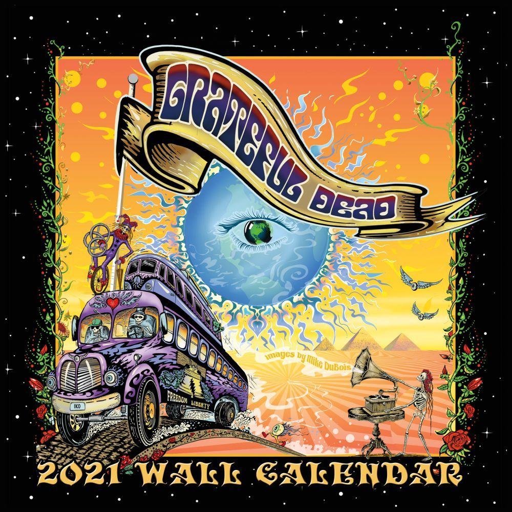 2021 Grateful Dead Spec Edition Wall Calendar