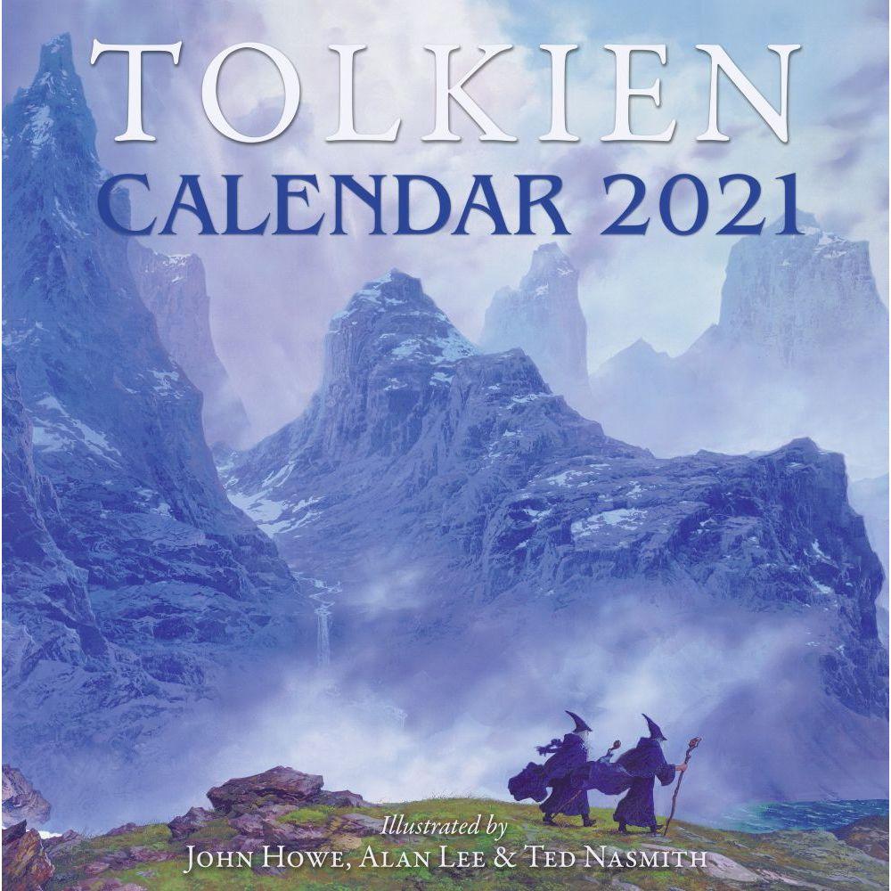 Tolkien 2021 Wall Calendar