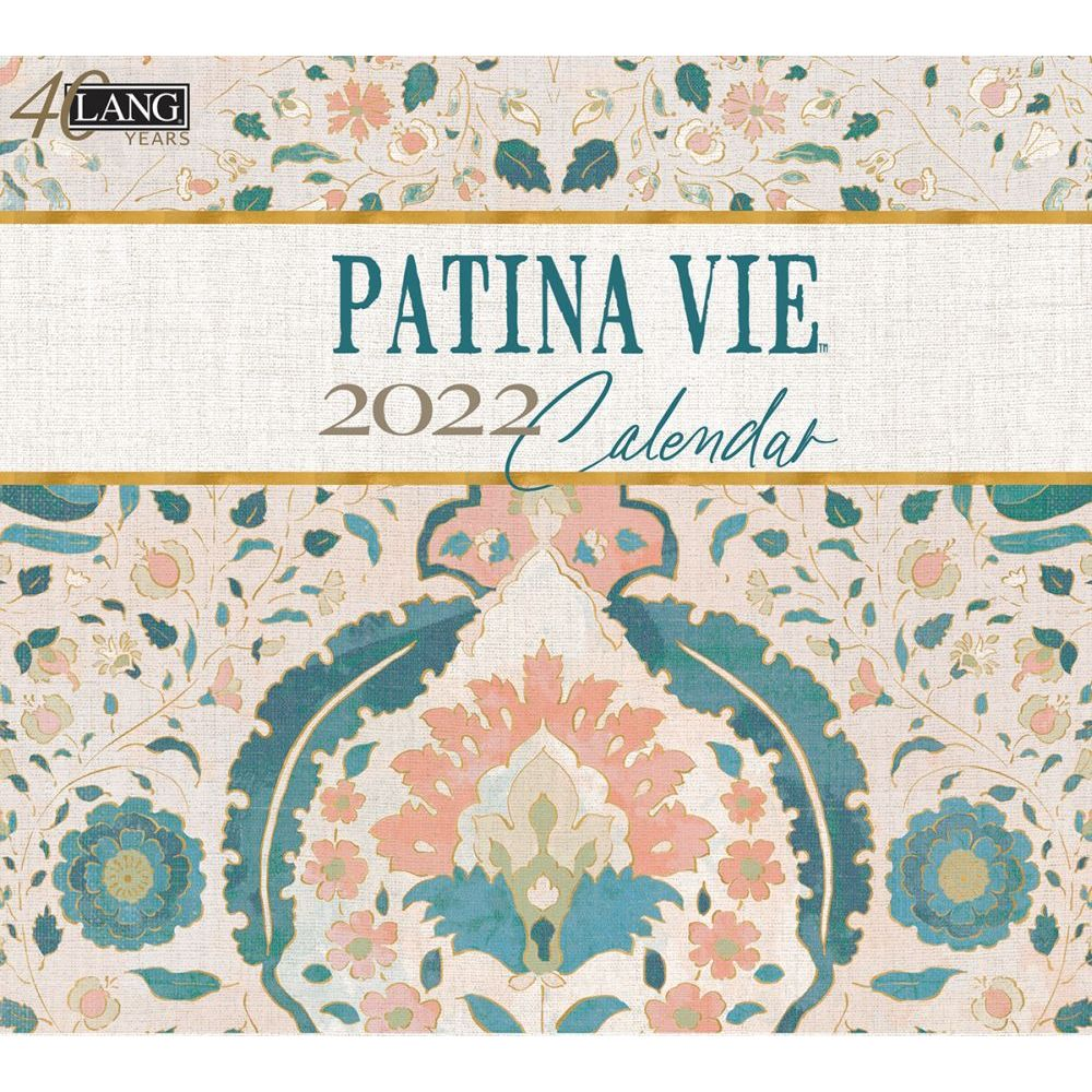 Patina Vie 2022 Wall Calendar