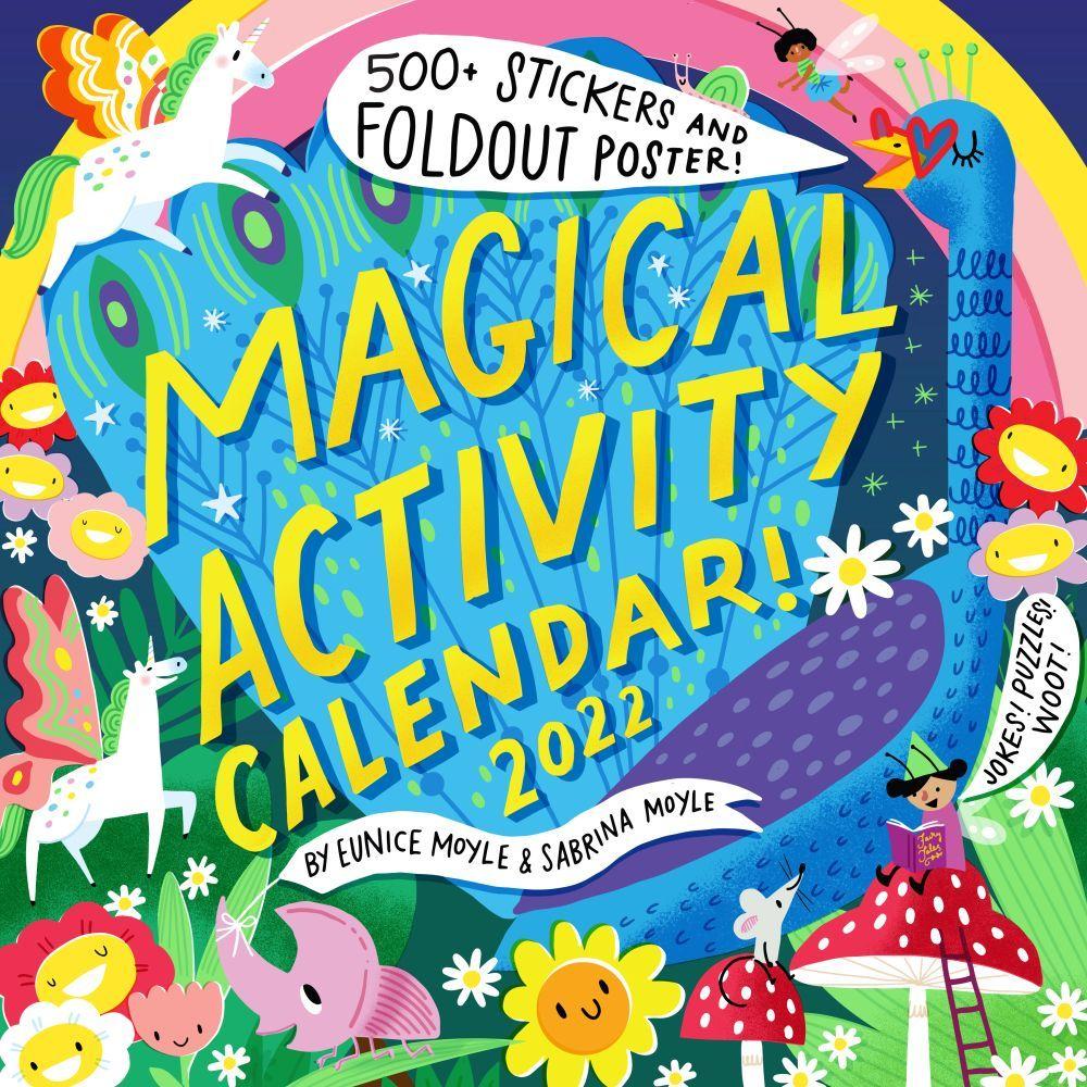 Magical Activity 2022 Wall Calenda