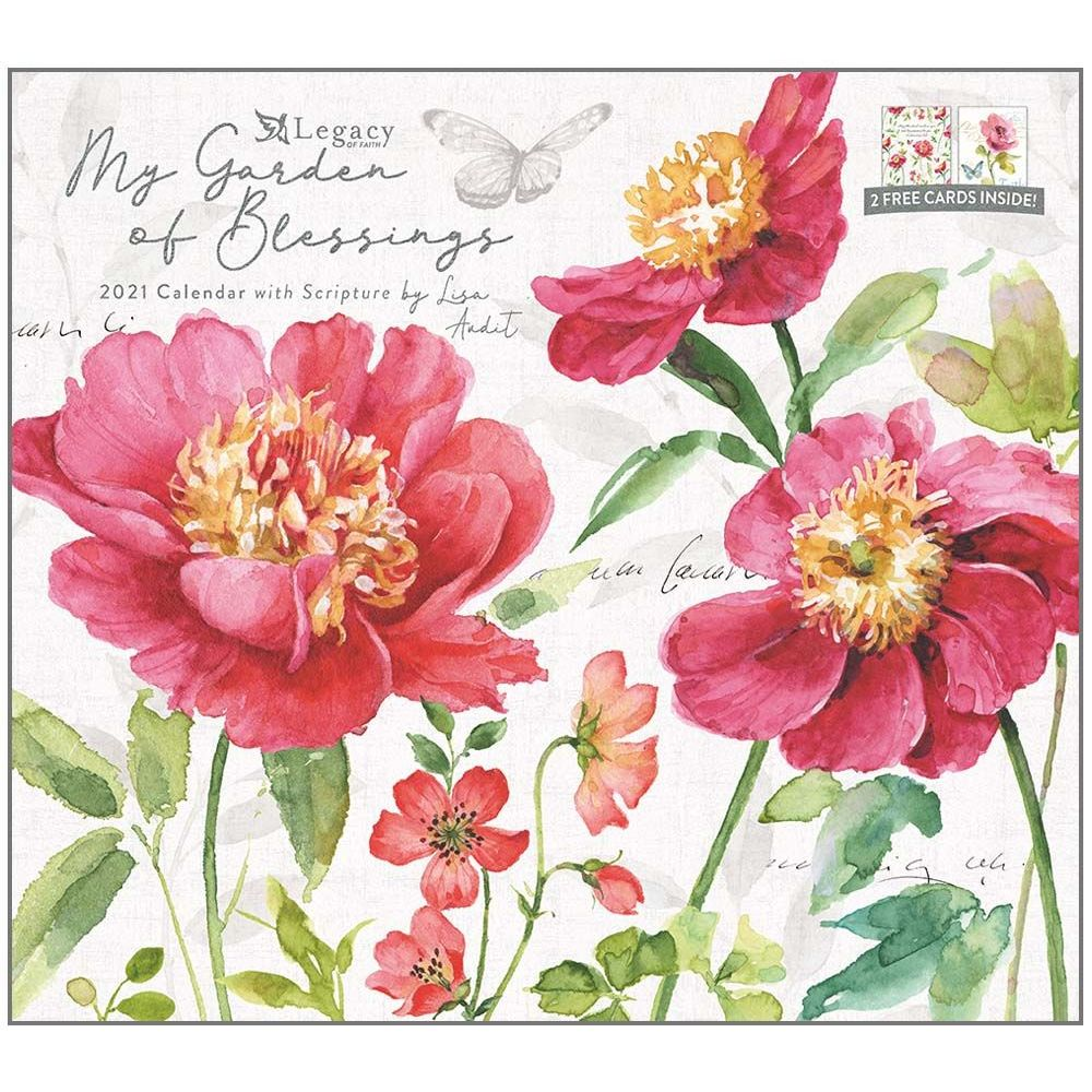 2021 My Garden of Blessings Wall Calendar