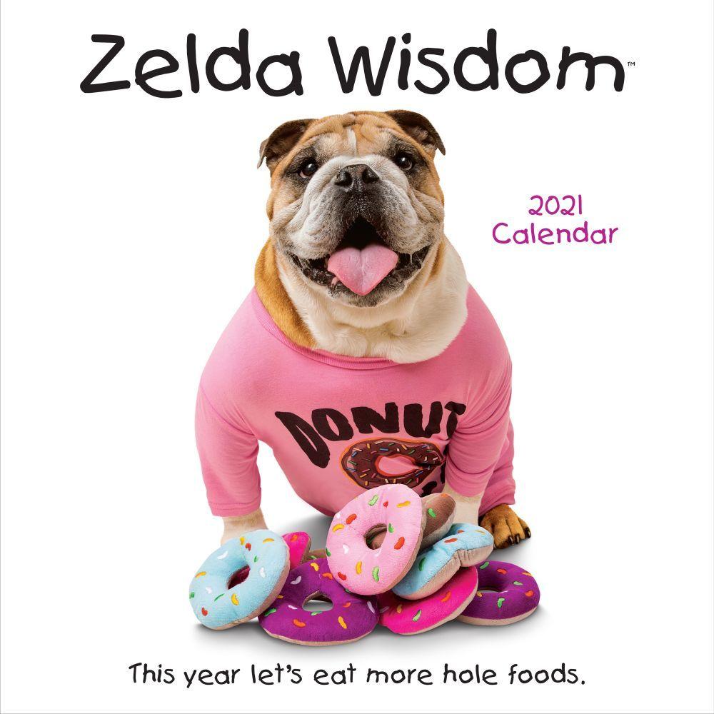 Zelda Wisdom 2021 Wall Calendar